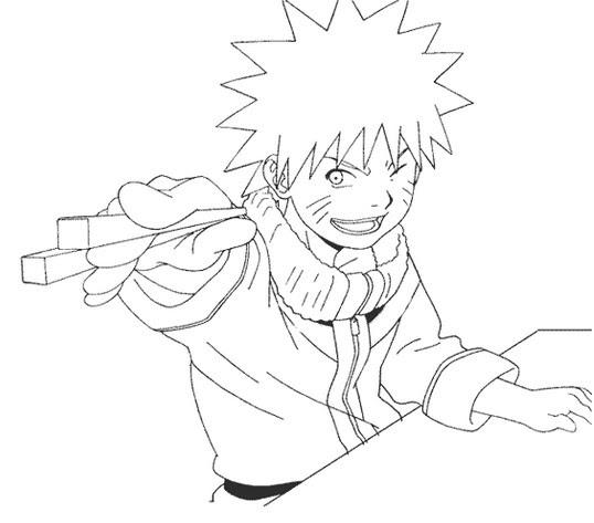 Imagenes Naruto: Naruto: Imágenes para colorear I