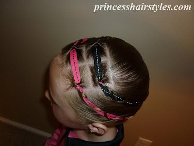 braided headband hairstyle