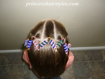 beaded hairstyle