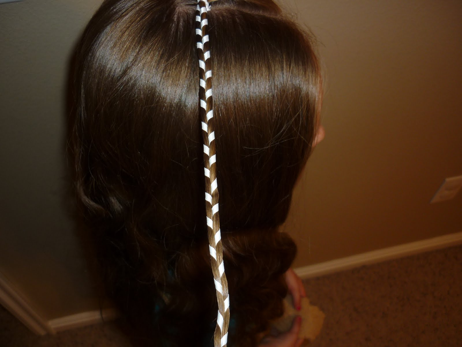 Hairstyles For Girls: Ribbon Braid - Part 2