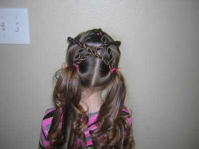 Cute little Sammy shows his elegant kids hairstyle. Twist Braid Star · star