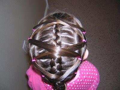 Site Blogspot  Hairstyles  School on Bun Hairdo Hairstyle Rubber Band School Dance Ballet Easy Prom