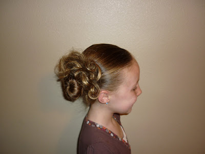 it look longer and fuller in lots of different hairstyles. messy bun