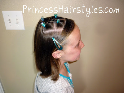 quick hairstyle for girls