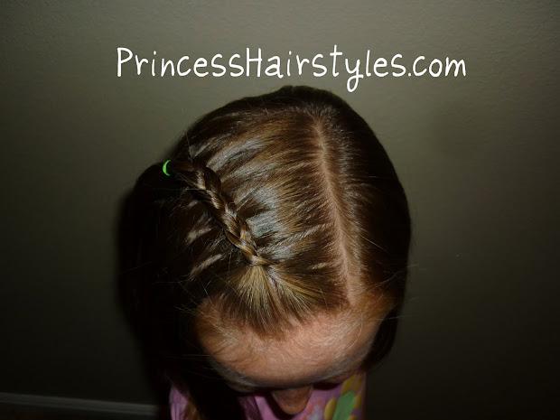 floating braid easy - hairstyles
