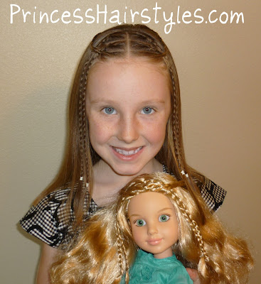 BFC doll hairstyle