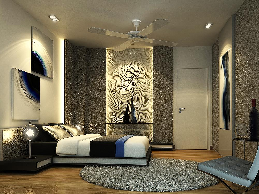 Contemporary-modern-bedroom-home-interior-design-idea-woth-luxury-modern-bedroom-design-and-with-elegant-mistic-blue-elements-design.