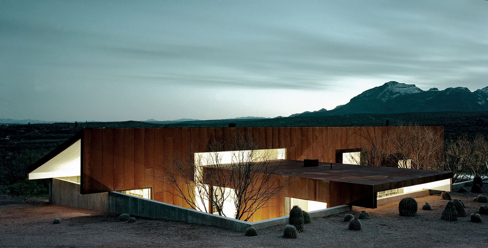 Rick Joy  House At Tubac Arizona Landscape Architecture Michael - Joy home design