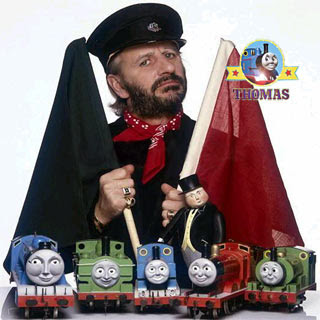 Thomas and the tank engine characters narration Ringo Starr with GWR Duck Gordon and James the train