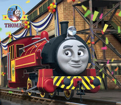 Sodor railway boss Sir Topham Hatt put Thomas the tank engine Victor train in charge of Steamworks