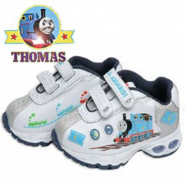 Kindergarten Top of the range for posh tots all aboard Thomas the train light up sneakers