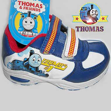 Thomas the train shoes fashionably sturdy athletic footwear trainers for children and teenagers
