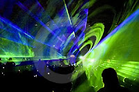 RAVE HOUSE PARTY LASER SHOW IN RGB COLOURS