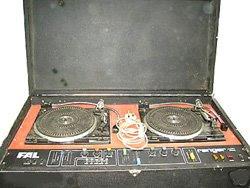 fal ranger disco decks 1210 disco hire pic