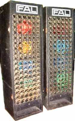 PA Mobile rental rare item to find square illuminating box screen FAL disco vintage light boxers