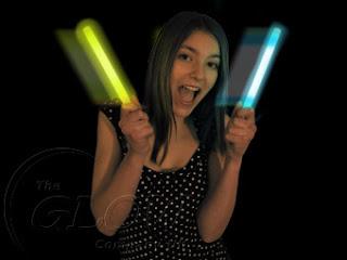 glowstick rave