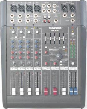 Mackie DFX6 6 Inputs Mixer