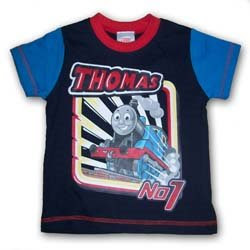 black and blue thomas kids clothing pic