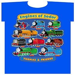 Engines of sodor thomas & friends custom t-shirt attractive train garment for boys