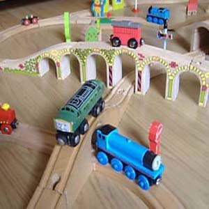 wooden thomas brio engines picture