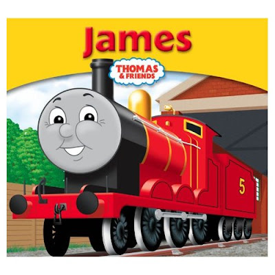 Thomas and friends James train the red engine pic