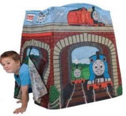 Thomas tents a Wendy house for boys