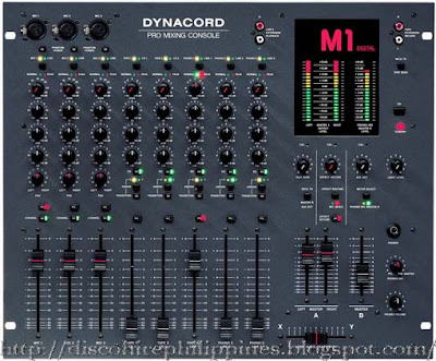 Pa dynacord M1 mixer Eight channel of loveliness