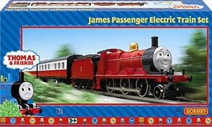 HO James the red engine Hornby Thomas tank set