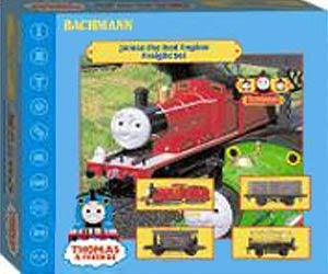 James the train set by bachmann ho scale