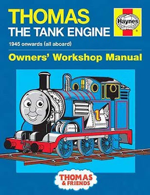 Thomas tank workshop Haynes Manual book in hardback format