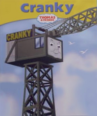 Cranky crane working on the sodor bay harbour