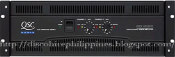 2450 QSC series theatrical touring amplifier head unit