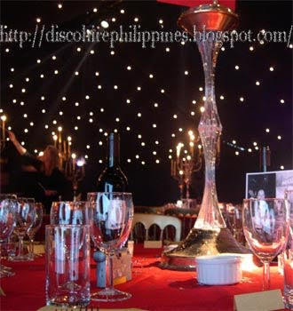 Nightlife Party decoration ideas star background