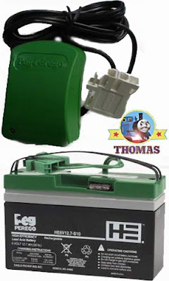 Thomas the tank Peg Perego battery powered ride on toys 6 Volt battery charger and replacement cell