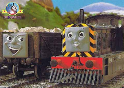 Thomas and friends Mavis the quarry diesel and the troublesome trucks on the island of Sodor quarry