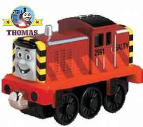 Island of Sodor Take along Salty the dockyard works at Brendam docks loves the cool ocean sea breeze