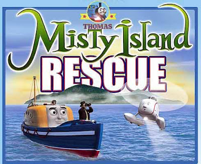 Movie Thomas the tank engine misty island rescue sea Captain the lifeboat and Harold the helicopter