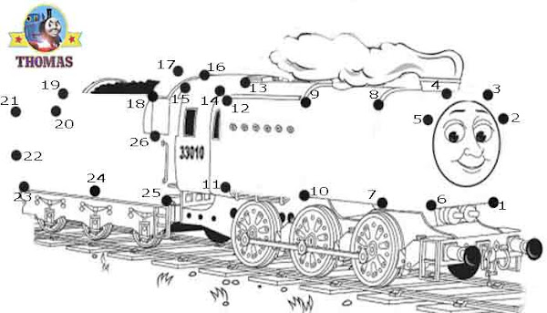 thomas and friends coloring pages - Thomas Friends Coloring Pages