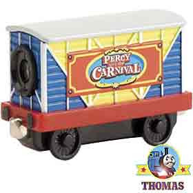 Sodor Take Along Thomas train carnival Percy the small engine diecast wagon 18 different movie clips