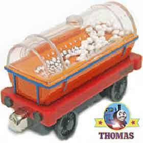 Die-cast toy childrens carnival candy floss wagon Thomas tank Take Along train Popping popcorn Carts