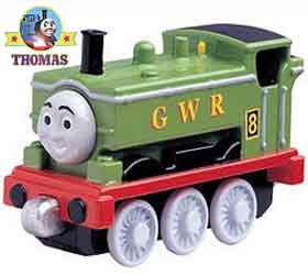 Kids educational models die cast train Take Along Thomas and friends Duck the great western engine