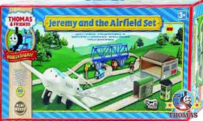 Learning Curve Thomas and Friends Wooden Railway Jeremy at the Airfield Set early educational toy