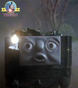 Stop complained Thomas and friends Henry engine to the terrified truck running scared from the ghost