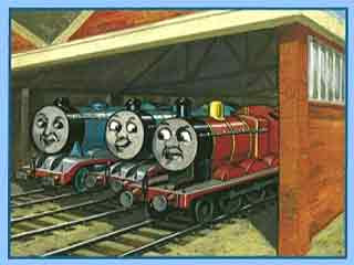 Kids Thomas the tank engine collection train stories James the Red Engine and Gordon the Big Engine