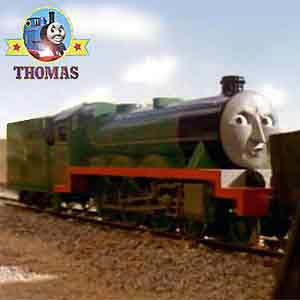 Thomas and friend Henry the tank engine caused a big train accident crashing the troublesome trucks