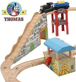 Thomas and friends calling all engines Mavis the diesel toy wooden railway quarry adventures set