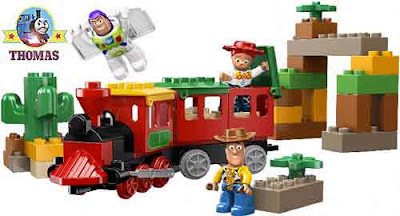 kids Duplo Lego Toy Story the Great Train Chase Woody Toy Story 3 Buzz Lightyear the Space Ranger