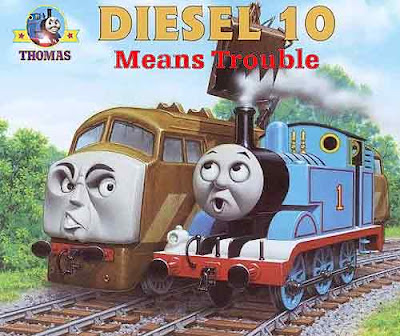 CGI Thomas and friends day of the diesels DVD 2011 movie for kids Diesel 10 means trouble trickery