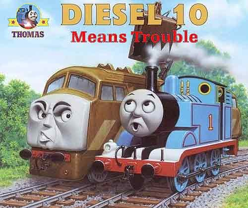 Thomas And Friends Day Of The Diesels DVD 2011 New Movie