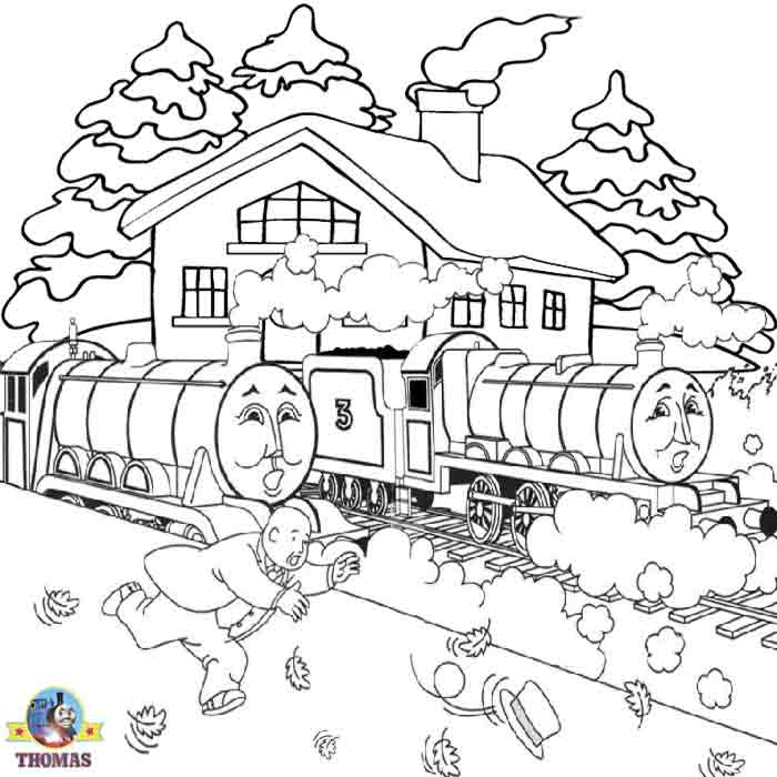 and big express Gordon the train coloring pages online free for kids title=